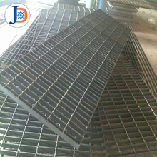 2m*2m platform floor galvanized i type steel grating for car parks