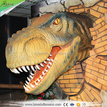 2016 Life Size Artificial Lifelike Animatronic T-rex Dinosaur Head for Sale