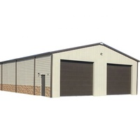 Made by steel structure storage shed