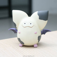 CUSTOM cute bat vinyl toy for kids/cartoon bat vinyl toy for decorate/plastic cute cartoon vinyl toy in shenzhen