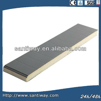 EPS polyurethane foam sandwich roof and wall panel for construction