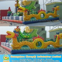 Dragon outdoor giant inflatable playground
