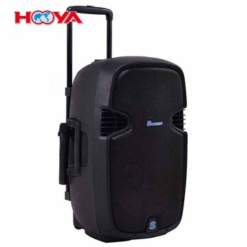 "Portable 12"" 600W Rechargable Battery Powered Speaker DJ/PA System"