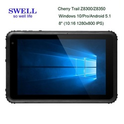 USA EU tablet pc with 1D barcode scanner IP68 industrial rugged standard 12inch 4g lte 4gb ram