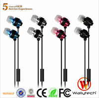 Wallytech Original WHF-081 Metal high quality Headset for iPhone 5s