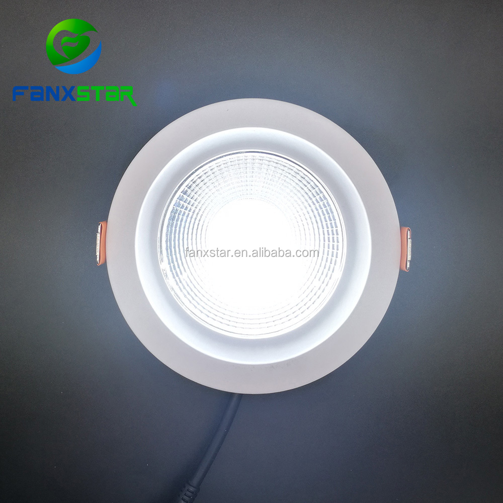 Hot sales waterproof led down light 25w ip65 ip54 8inch cut out 165mm for swimming pool application