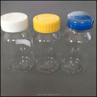 China manufactured 150ml clear PET medicine bottles,plastic pill bottles,candy container