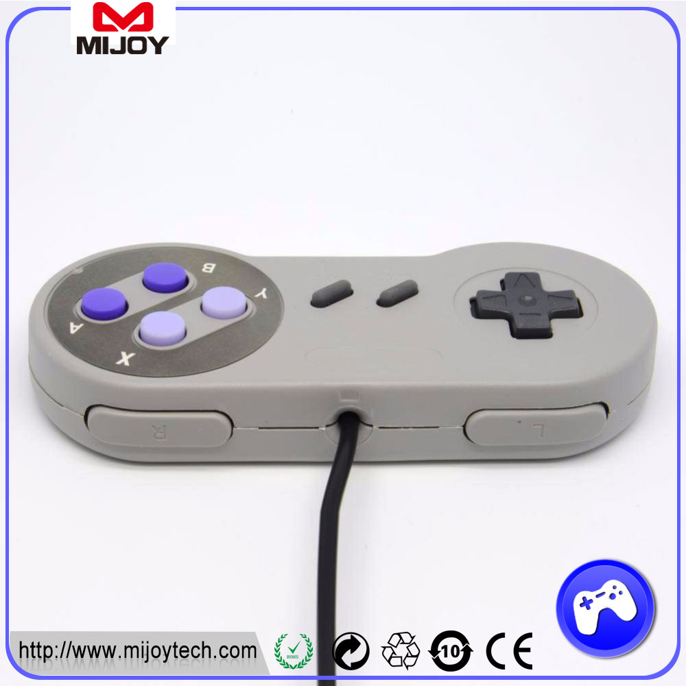 2017 Wired PC USB Game <strong>Controller</strong> For Nintendo SNES USB Model