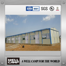 WELLCAMP supply low cost prefabricated house price/prefabricated steel house frame
