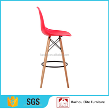 modern high stacking plastic dining chair