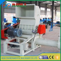 high efficiency plastic bags films recycle crusher machine