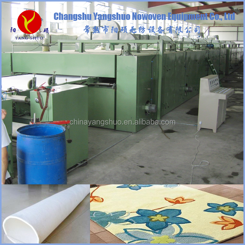 nonwoven polyster fibers multi functional forming machinery