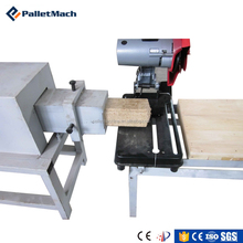 full automatic concret brick making machine wood pallet block hot press machine