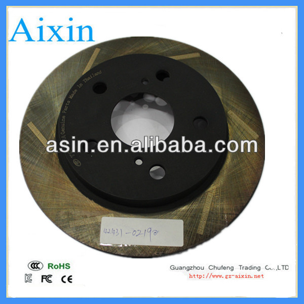 best price AUTO BRAKE DISC USED FOR TOYOTA TOYOTA COROLLA ZER15 2007-2012 42431-02190