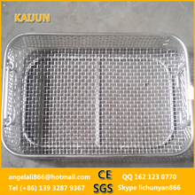 SS304/316 Stainless Steel Disinfection wire baskets / metal basket for hospital