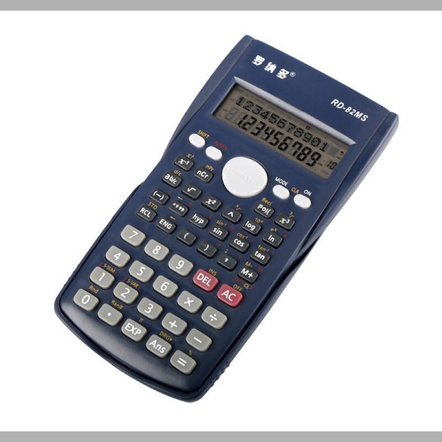 high quality graphing 12 digit 240 function scientific calculator
