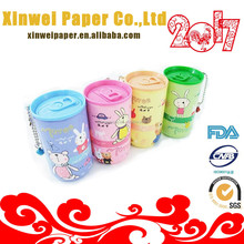 30pcs disposable nonwoven pet wet wipes in plastic tube clean wipe