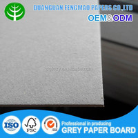 Super Stiffness 1.8 mm Grey Chipboard Sheets/Paperboard for Book Cover or Files