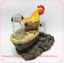 thanksgiving gift figurine garden life size animal hen resin statues