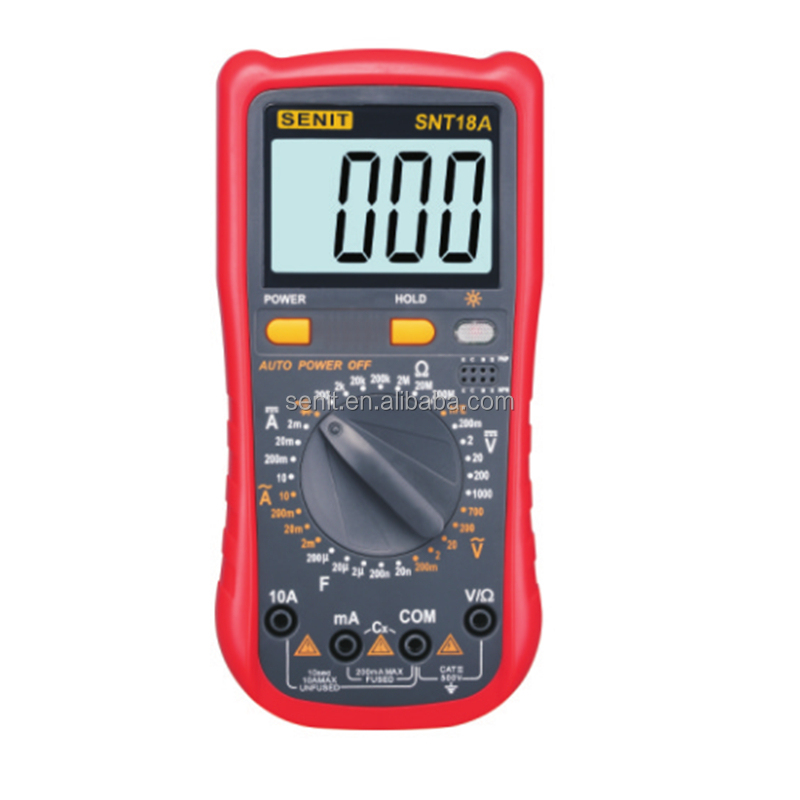 Basic High Performance Compact Digital Multimeters SNT18A