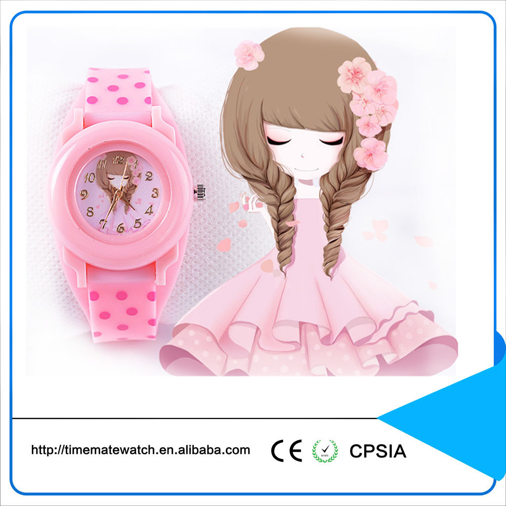 Beautiful girl and woman epoch quartz watch