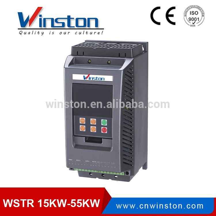 WSTRD3090-3 380V AC Built in bypass 90KW Three phase motor soft starter for water pump