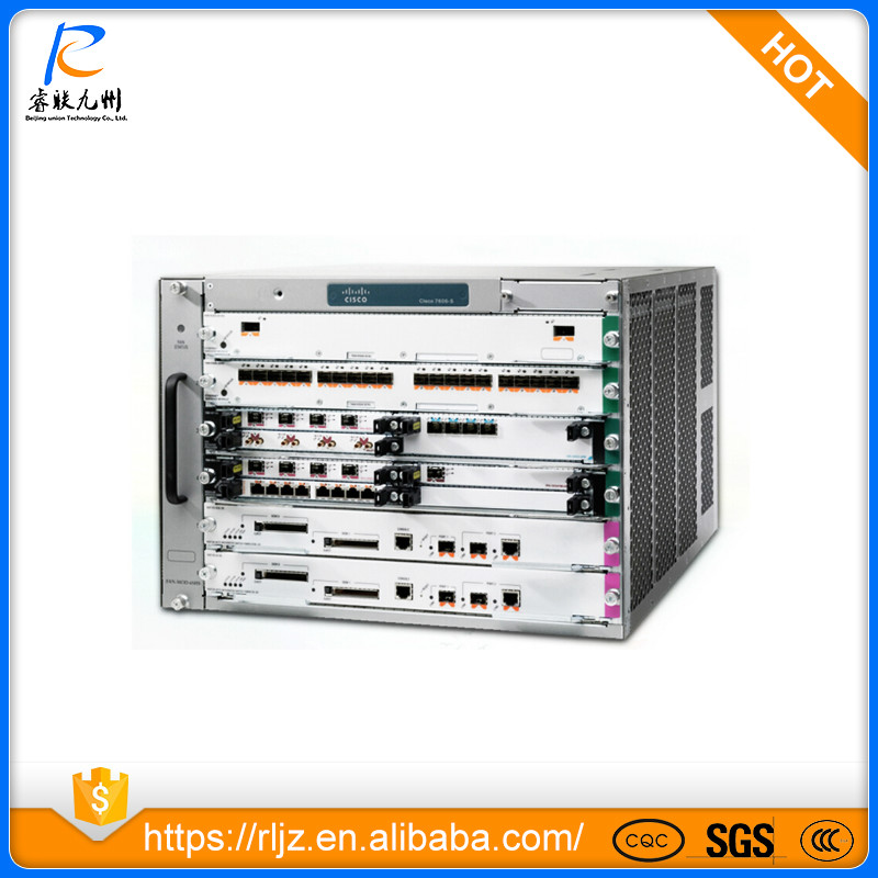 New Original cisco 7600 series network router Chassis cisco7606-S= with competitive price