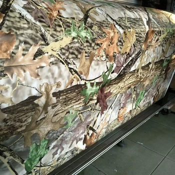 2016 New Product 1.52*28M Realtree Camouflage Vinyl Wrap For Car Body