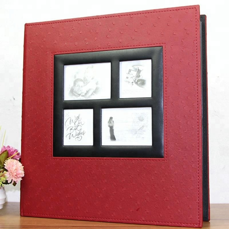 Waterproof DIY Leather 4x6 Photo Album Wholesale Wedding Photo Album