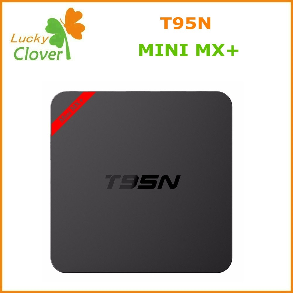 New T95N Mini MX+ Cheap Android 5.1 TV Box S905 Quad Core Bluetooth Wifi Kodi16.0 smart android tv box