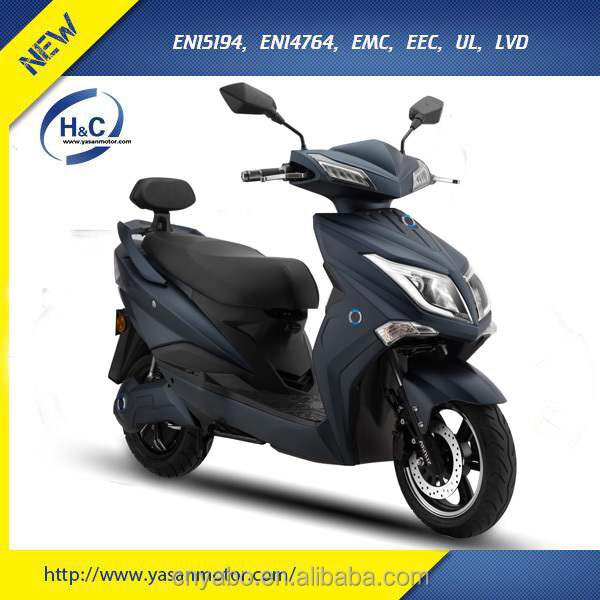 EEC Approved Electric Moped Scooter with 72V 20Ah battery 2 wheel adult scooter