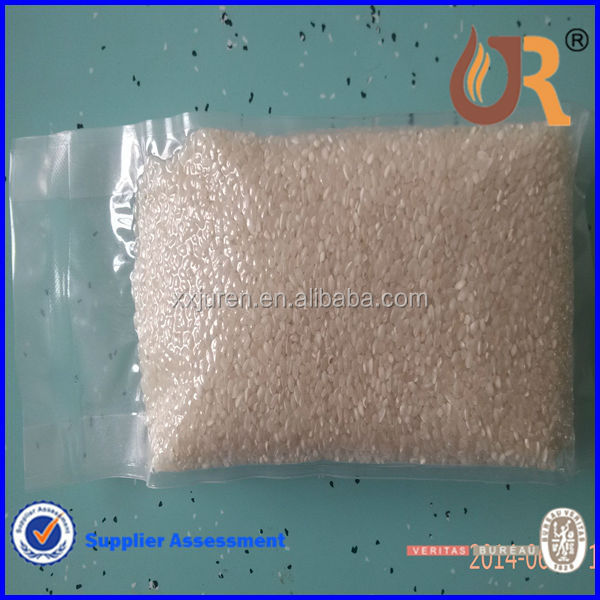 China factory sell transparent vacuum plastic bag for rice