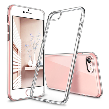 Case for iphone 8/8 Plus , Soft TPU bumper Clear Case 0.8mm Ultra Thin Light Weight Jelly cover case for iPhone8