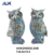 Funny Home Party Halloween Table Decoration Owl Sculpture