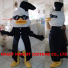 Super cool duck costume with black glasses soft plush adult duck costume