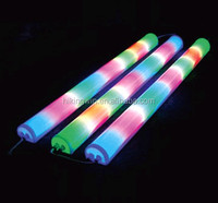 Outdoor IP65 builing decorative color change waterproof HPF built-in driver 10W/m SMD 5050 DMX RGB led digital tube