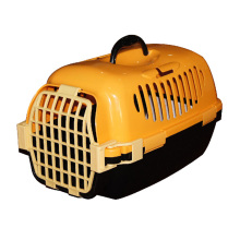 Wholesale portable durable flight case for pet,PP plastic airline pet transport box dog carrier cage