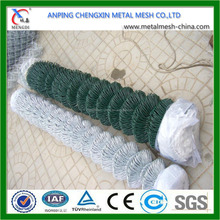Galvanized chain link fence netting with high quality ( ISO:9001;Manufacturer)