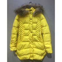 jacket women winter 2017 Yellow and White Two colors