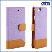 [GGIT] New Arrival Flip Magnetic Wallet TPU PU Jeans Leather Mobile Case Cover with Stand for iPhone 6