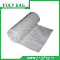 HDPE white produce plastic bag in roll