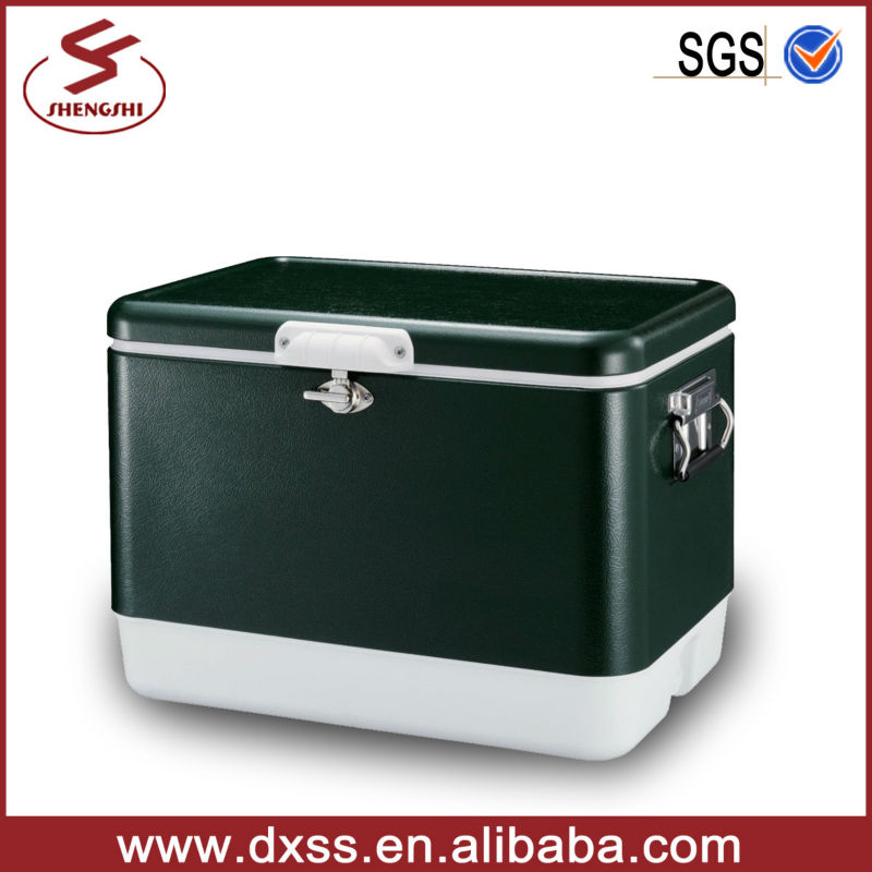 Outdoor Solid Steel-Belted Cooler Ice Bucket for Beer