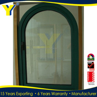 Aluminium Arch Top Casement Windows /Arched Windows