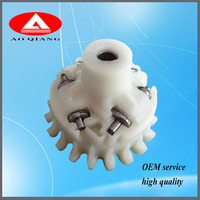 V type generator engine white plastic governor gear for any general machinery