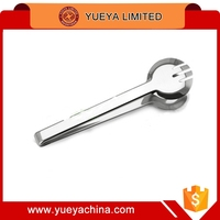 Stainless Steel Sugar Tongs Ice Cube Bread Picker Safe Sanitary