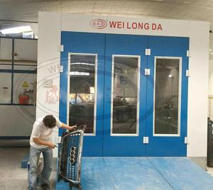 WLD8400 (CE) Best Quality Car Auto Water Based Water Borne Spray Booth