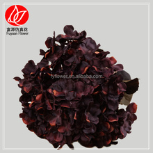 140540 factory direct decorative flowers & wreaths artificial flower wreath for funeral hortensias
