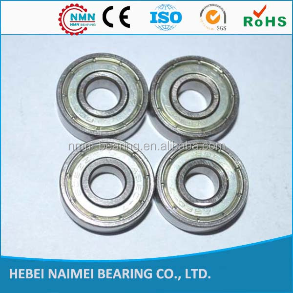 Long life 608 series bearing miniature deep groove ball bearing