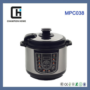 Electric pressure cooker with Microcomputer control and precise pessure control MPC038
