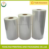 Wholesalers china Oem Design Recycled plastic wrapping film roll,plastic packaging roll film in china,food film